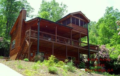Photo for MountainSecluded,BlueRidge, HotTub,Waterfalls, Lake, Aska Adventure Area,Hiking