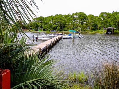 Photo for Shared pool, sauna & dock, across the street from the beach!
