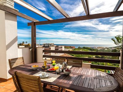 Photo for Stunning Penthouse overlooking the sea