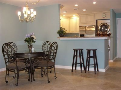 Kitchen and Dining room view