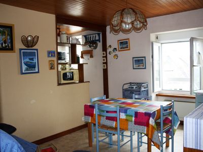 Photo for Nice Studio (25m²), in the heart of Beg-meil
