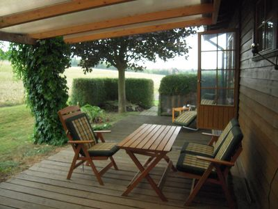 Photo for Sweden house in the Warburg flare, quiet location field edge, meadow land