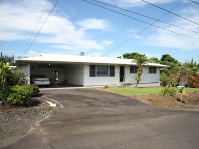 Photo for Three bedroom home in older residential neighborhood of Hilo