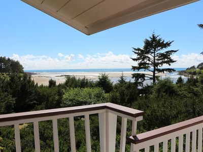 Photo for Huge waterfront home w/ hot tub, & views - close beach access & dogs OK!
