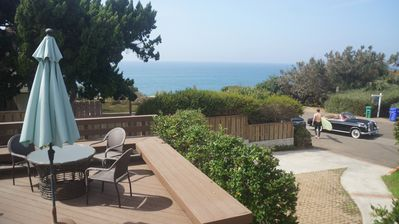 Photo for Holiday Deals! -Ocean view home, jacuzzi, gated yard, 5 min to top notch golf