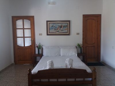 Large double/ triple bedroom with Ceraunian Mountain stunning view