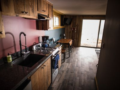 Photo for Spacious 1 BR Condo Steps away from Burke Mtn Hotel & Mtn Biking - 2B