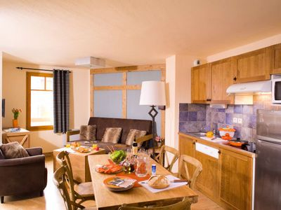 Photo for Résidence Cami Real **** - Duplex 4-Room Apartment + Mountain Corner -10 People