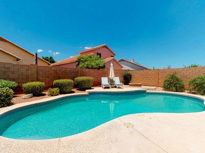 Photo for Beautiful Chandler home w/ a heated, outdoor pool, furnished patio, & yard