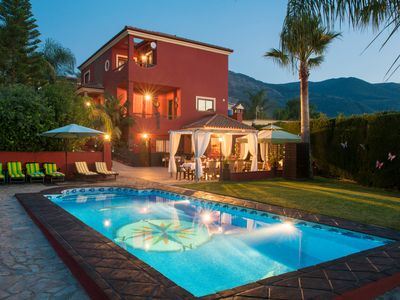 Photo for LUXURY VILLA WITH PRIVATE POOL BBQ AND JACUZZI