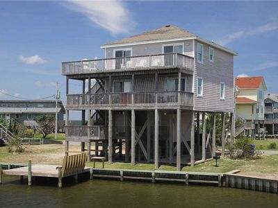 Photo for Sound & canalfront, dock, sunset views w/HotTub, PetFriendly