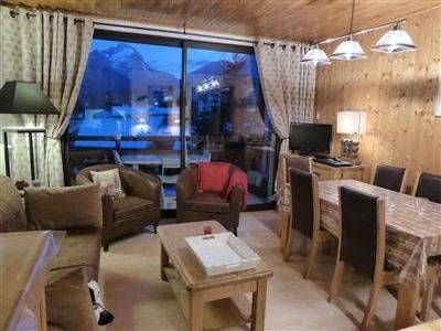 Photo for Very bright flat 3 rooms, 50 m ², 3rd floor, quality label 3 ***, for 6/8 pers, living room, 2 bedrooms, 2 balconies, 20m ski tracks, center resort, parking
