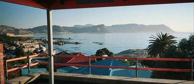 View over False Bay from the Balcony