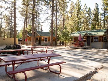 Lakeview Shopping Center, Big Bear Lake, CA, USA