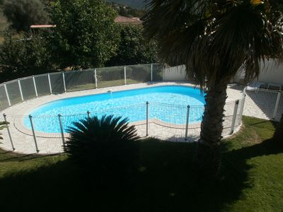 Photo for Apartment in house in the countryside, with swimming pool, Peri