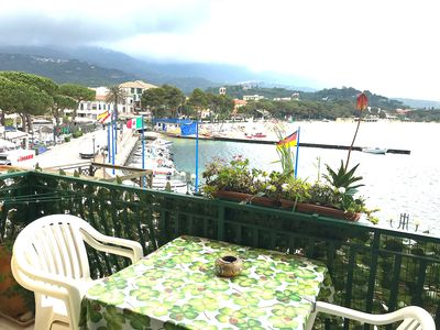 Photo for Centrally Located Apartment with Balcony, Sea View and Wi-Fi