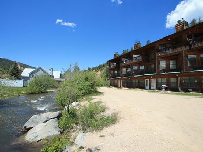 Photo for Riverbend #8A - 3 Bedroom on the River, WiFi, Pet Allowed, Wood Fireplace, Trailer Parking