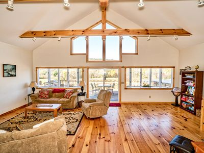 Photo for Custom Vacation Chalet in Killington Country.