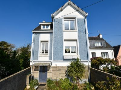 Photo for Large house with terrace and garden 10min from Port-Louis beach,disabled access.