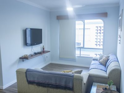 Photo for Enseada Guarujá - Ample Apt- Excellent Location (2 Qds from the Beach)