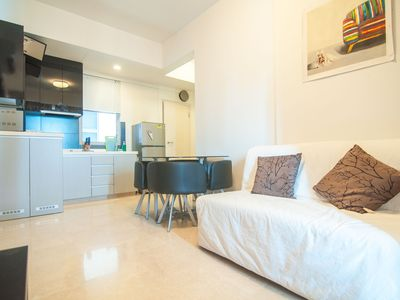 Photo for Central Abode,8mins walk to Novena train