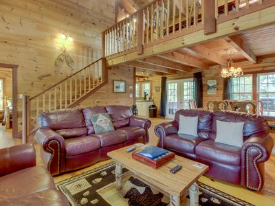 Photo for 3BR Cabin Vacation Rental in Sautee Nacoochee, Georgia