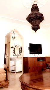 Photo for Homerez last minute deal - Nice apt with garden and balcony