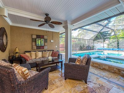 Photo for 3 Bed/2 Bath Beautiful Private Pool & Spa Home