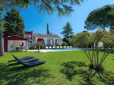 Photo for Wonderful private villa for 8 guests with A/C, private pool, WIFI, TV, pets allowed and parking