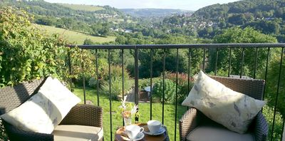 Photo for STUNNING VIEWS at Romantic Cottage, with touch of luxury (family friendly too)