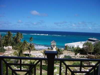 Photo for The  Crane Resort: Ocean Front 2 bedroom, 3 bath,  private pool, Sleeps 6 VIEWS!