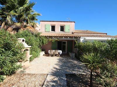 Photo for Nice villa with 2 bedrooms and lovely view on natural reserve, PORTIRAGNES PLAGE