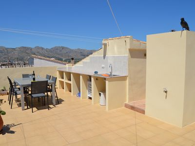 Photo for Casa Goya with 3 bedrooms, 2 bathrooms, roof terrace with shower, BBQ u. Merblick