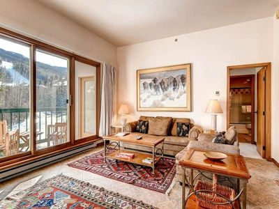 Photo for Enjoy mountain views from the private balcony of this bright and beautiful condo.