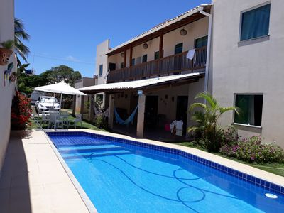 Photo for Nice, large, comfortable house 200 m from the beach
