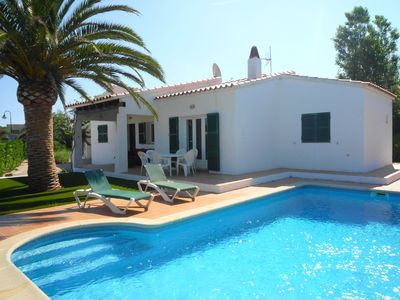 Photo for Villa Anco for 8 guests, only 1.5km to the beaches of Menorca!