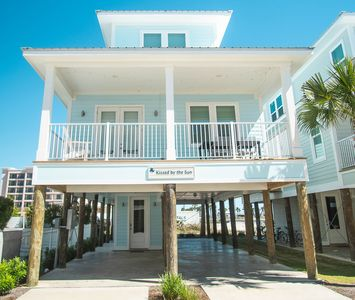 Photo for Kissed by the Sun|East Point Cottages|13 cottages|Gulf Shores|Across the street from the beach |Pool