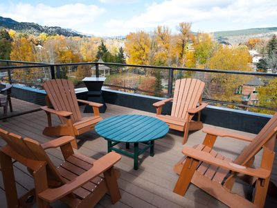 Photo for New Luxury Riverfront Townhome in Historic Downtown Durango - Roof Top Deck