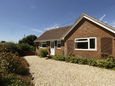 Photo for Beautiful self contained bungalow with space for 1 well behaved dog