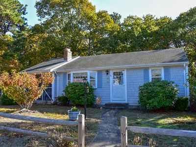 Photo for Lovely ranch home with screened in porch. 8/10 mile to Haigis Beach in Dennis