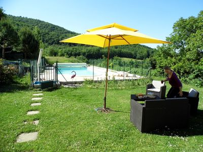 Photo for Gite 140 m2, 6-7 pers, pool, lake,occitanie