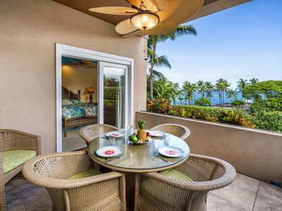 Photo for ***Rates Reduced *** 2 bedroom 2 bath condo, Free A/C, shared infinity pool, walk to beach