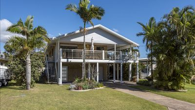 Photo for Beach Retreat ideal for a couple in quiet location close to town.