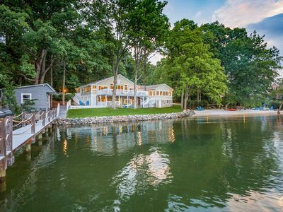 Photo for Lux Waterfront Home w/Dock&2 Kayaks on Lake Norman