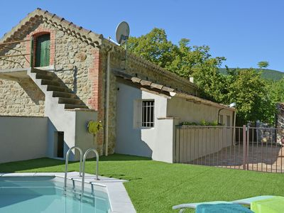Photo for A true gem with private swimming pool near the Ardèche, very close to the river