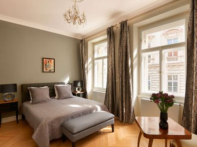 Photo for Luxury apartment in the center of Prague! Perfectly decorated and fully equipped.