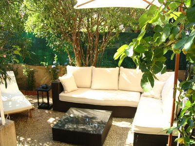 Photo for LOVELY 2 rooms, TERRACE and SMALL GARDEN CANNES / CANNES 2 / 3people