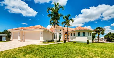 Photo for VILLA SIESTA KEY -NEW TRAUMVILLA AT THE SALZWASSERKANAL WITH BOATSDOCK, XXL TERRACE