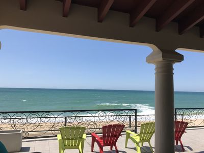 Photo for Beach Front Home in Las Conchas with 2 separate casitas Total of 4 bd/4bath