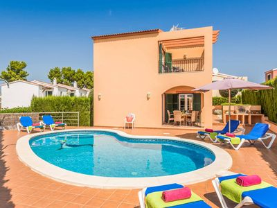 Photo for Villa Marcolis Cel - villa with pool, air-con & Wi-Fi in an ideal location!